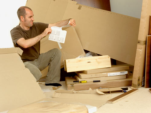 How do you assemble flat pack furniture - Diy tips assembling flat pack furniture ...